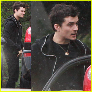 Orlando Bloom Is Willing To Get Wet