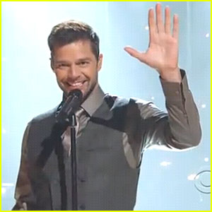 Ricky Martin Debuts 'Shine' on CBS Special