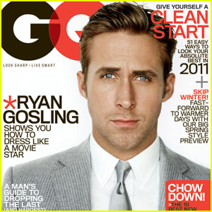 Ryan Gosling Covers 'GQ' January 2011