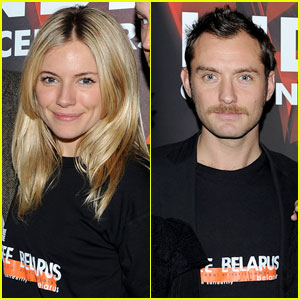 Jude Law: 'Belarus: Zone of Silence' with Sienna Miller