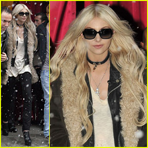 Taylor Momsen: Pretty Reckless in Paris