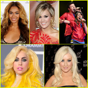 JustJared.com's Most Popular Music Acts 2010