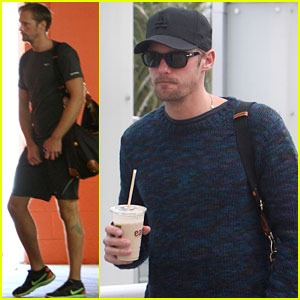 Alexander Skarsgard: Gym and Groceries!