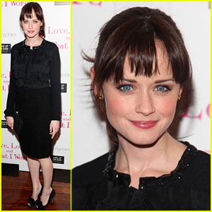 Alexis Bledel: 'Love, Loss, and What I Wore' 500th Show!