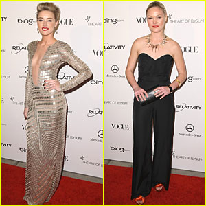 Amber Heard &#038; Julia Stiles: Art of Elysium 2011