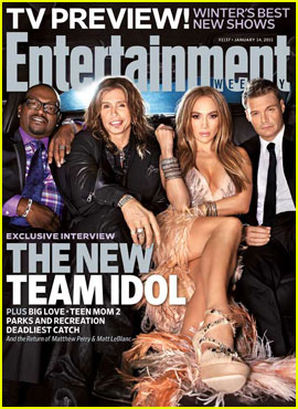American Idol's New Judges Cover Entertainment Weekly