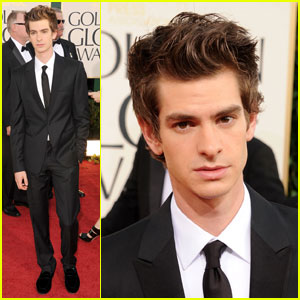 Andrew Garfield - Golden Globes 2011 Red Carpet