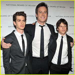 Andrew Garfield & Jesse Eisenberg: National Board of Review Gala!