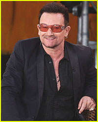 Bono Attends 'Spider-Man' Performance