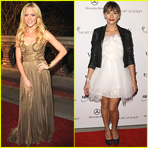Rashida Jones & Brittany Snow: Art of Elysium Gala!