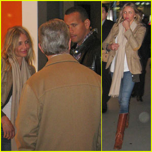 Cameron Diaz & Alex Rodriguez: New Year's in Vegas