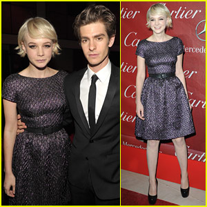 Carey Mulligan: Palm Springs Film Festival with Andrew Garfield!