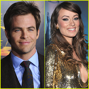 Chris Pine &#038; Olivia Wilde: Welcome to People!