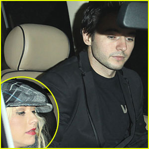 Christina Aguilera & Matthew Rutler: Steakhouse Supper