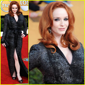 Christina Hendricks - SAG Awards 2011 Red Carpet