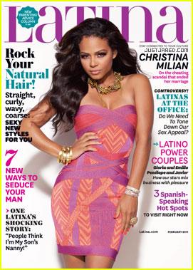 Christina Milian Covers 'Latina' February 2011