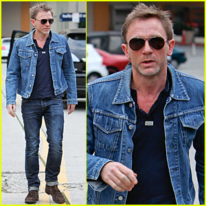 Daniel Craig: Denim Jacket Dude
