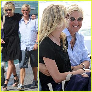 Portia De Rossi Wedding Kiss.Portia De Rossi Photos News And Videos Just Jared Page 19