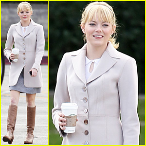 Emma Stone: 'Spider-Man' Coffee Break