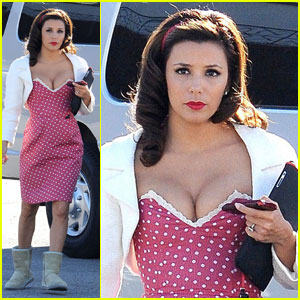 Eva Longoria: Polka Dotted 'Desperate' Housewife