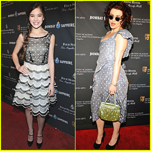 Hailee Steinfeld & Helena Bonham Carter: BAFTA Tea Party!