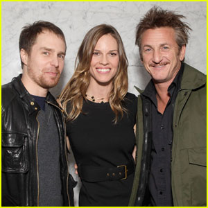 Hilary Swank: 'Convicted' with Sean Penn & Sam Rockwell