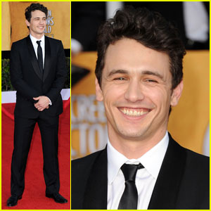 James Franco - SAG Awards 2011 Red Carpet