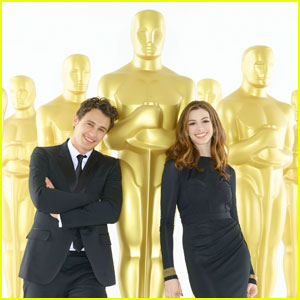 James Franco & Anne Hathaway: Oscar Promo Pics!