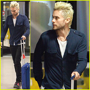 Jared Leto: Bleached Blond Hair!