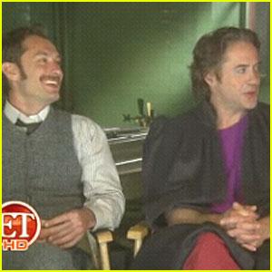 Jude Law & Robert Downey, Jr.: Sherlock Holmes Sequel!