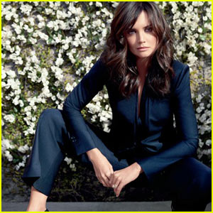 Katie Holmes: Ann Taylor's New Spokesmodel!