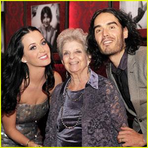 Katy Perry & Russell Brand: Grandma's 90th Birthday in Vegas!
