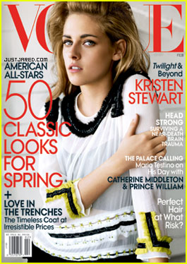 Kristen Stewart Covers 'Vogue' February 2011