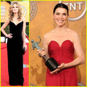 Julianna Margulies & Kyra Sedgwick - SAG Awards 2011