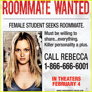 Leighton Meester Needs A Roommate - Call This Number!
