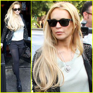 Lindsay Lohan: Gifted with a Range Rover?