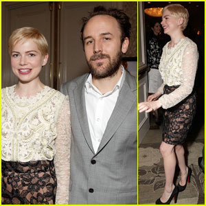 Michelle Williams: BAFTA Tea Time!