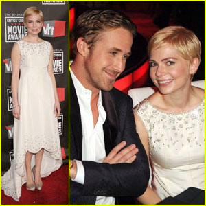 Michelle Williams: Critics Choice Awards with Ryan Gosling!