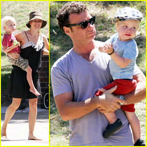 Naomi Watts & Liev Schreiber: Playdate Fun in Sydney!