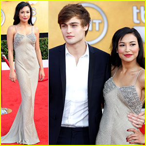 Naya Rivera: SAG Awards with Douglas Booth!