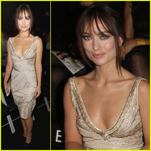 Olivia Wilde: Front Row at Armani Prive Show!