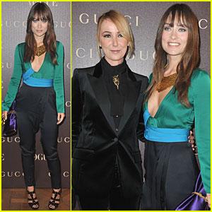 Olivia Wilde: Gucci Celebration with Frida Giannini!