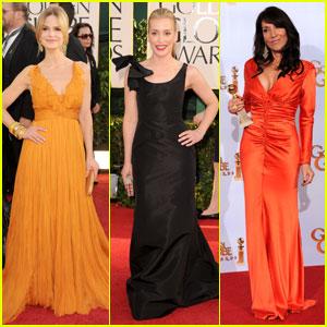 Kyra Sedgwick, Piper Perabo & Katey Sagal: Golden Globes 2011
