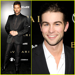 Ricky Martin & Chace Crawford: Artists for Peace!