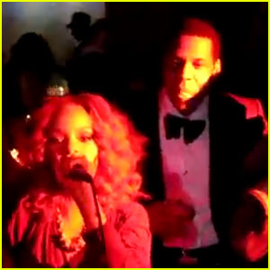 Rihanna Sings 'What's My Name' at Marquee's Boom Box