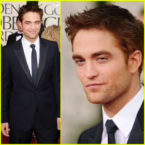 Robert Pattinson at golden glop