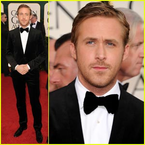 Ryan Gosling - Golden Globes 2011 Red Carpet
