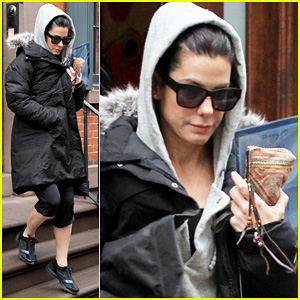 Sandra Bullock: Back in NYC!