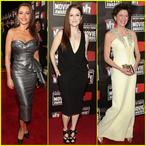 Sofia Vergara & Julianne Moore: Critics Choice Awards 2011