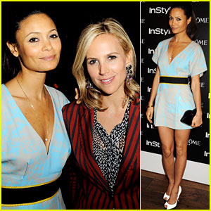 Thandie Newton: Tory Burch Shop Launch!